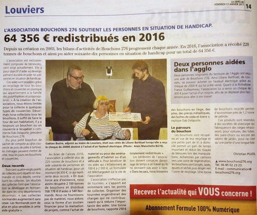 La Dépêche de Louviers 12012017