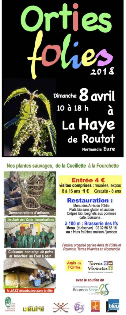 Affiche Orties Folies 2018