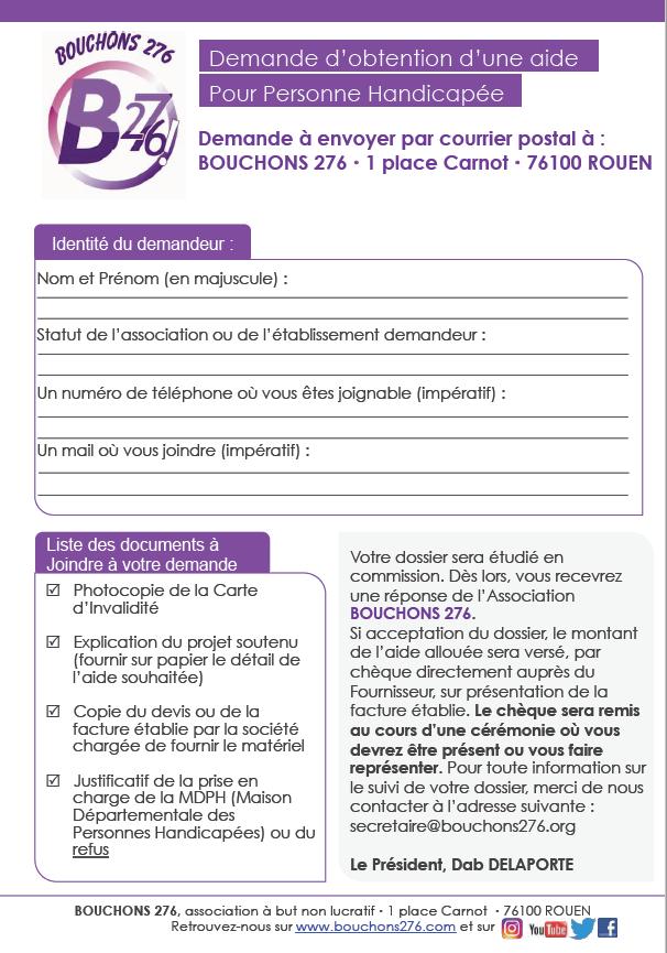 Bouchons276-Formulaire de demande d'aide